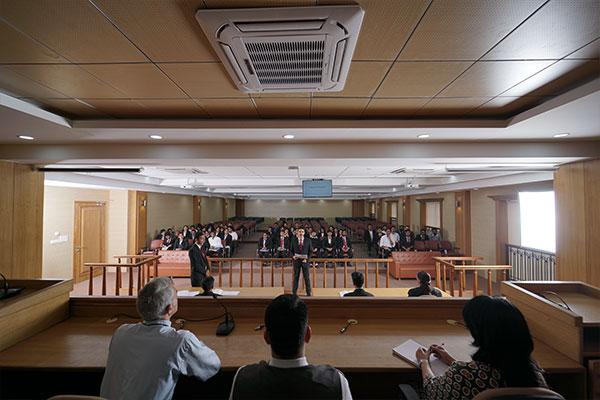 Symbiosis law school Nagpur court infrastructure