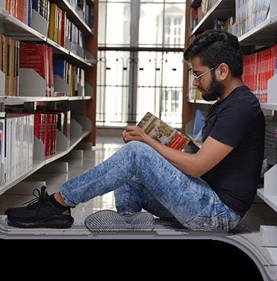 SLS Nagpur Central library