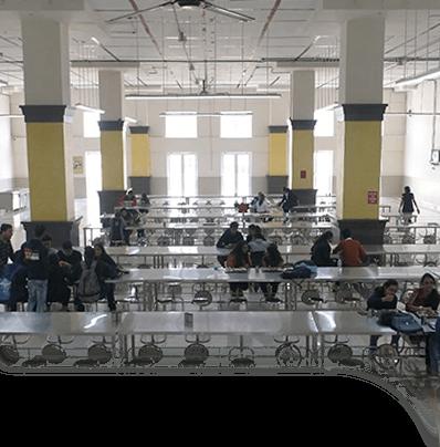 Symbiosis Law School College Cafeteria