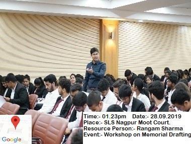 The event at SLS Nagpur moot court