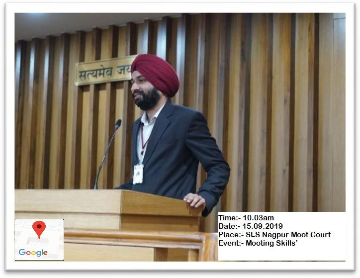 Law school mooting skill event