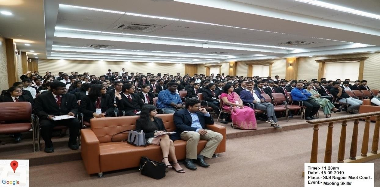 Law school mooting skill event member